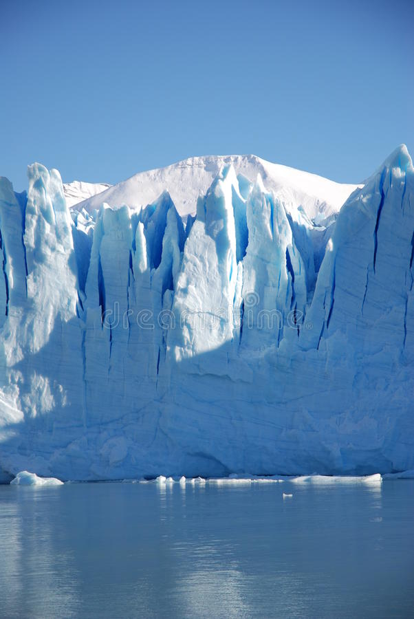 Perito Moreno ice front royalty free stock images