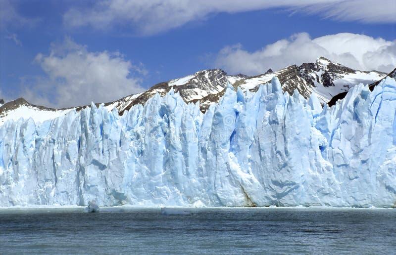 Perito Moreno Ice Wall royalty free stock photos