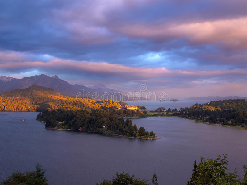 Perito Moreno jezioro fotografia royalty free
