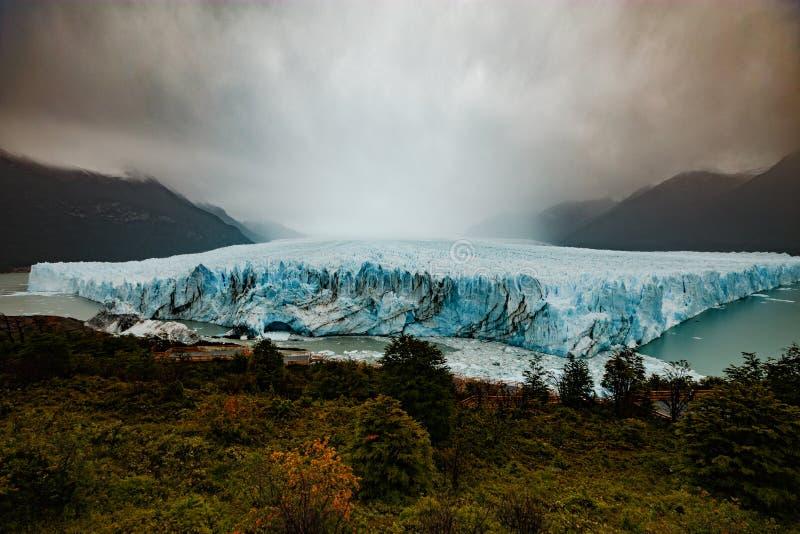 Perito Moreno lodowiec, Argentino jezioro, Patagonia, Argentyna obrazy stock