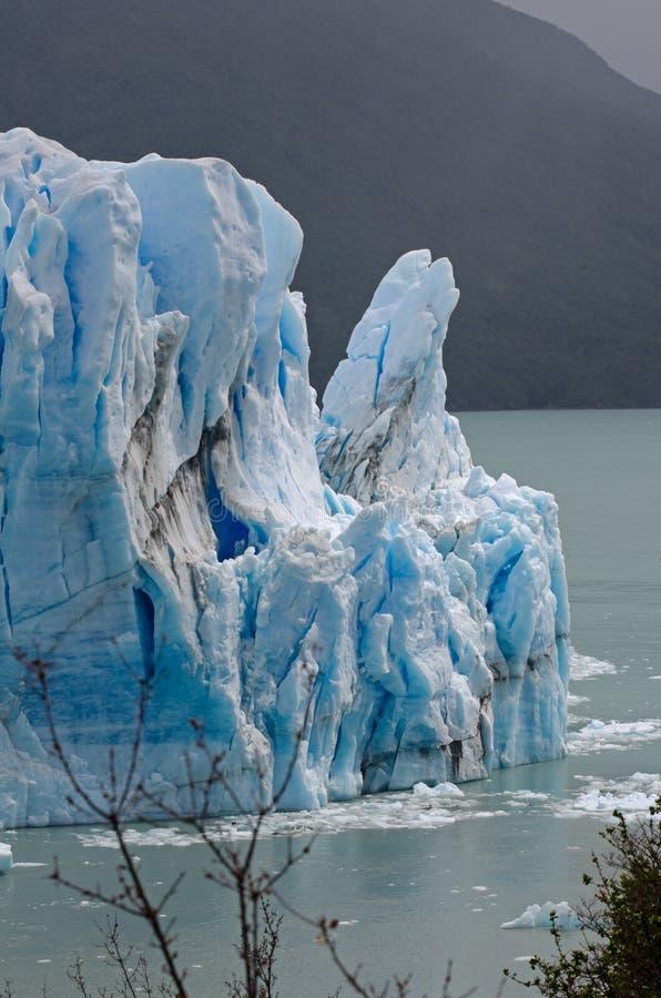 Perito Moreno lodowiec, Patagonia, Argentyna obrazy stock