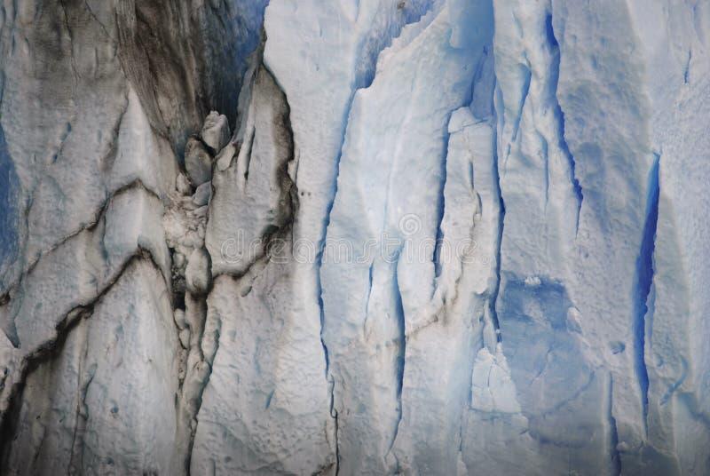 Perito Moreno up zakończenie zdjęcie stock