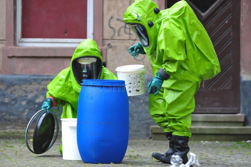 Peritos químicos fotos de stock