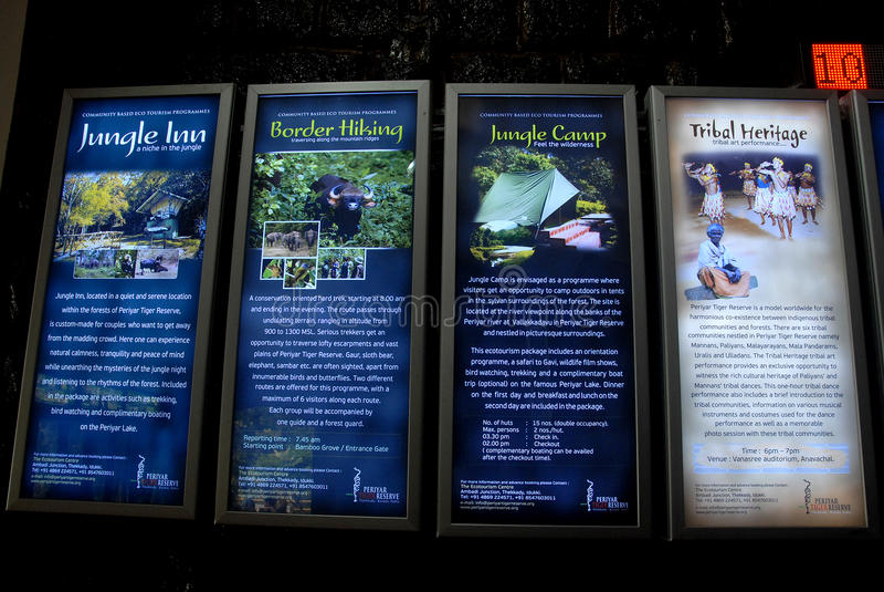 Periyar National Park and Wildlife Sanctuary royalty free stock photos