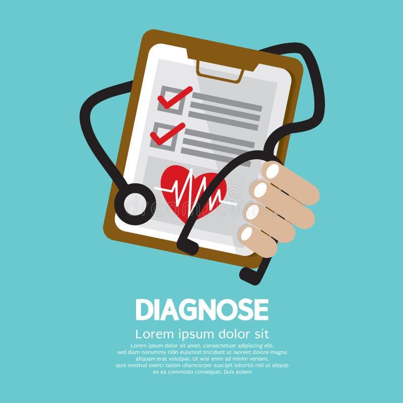 Perizia medica royalty illustrazione gratis
