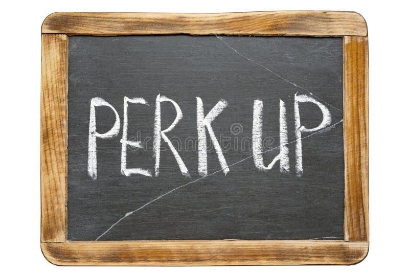 Perk επάνω σε FR στοκ εικόνα με δικαίωμα ελεύθερης χρήσης