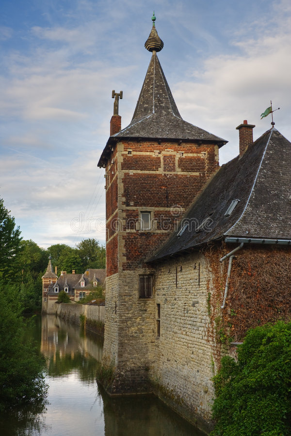 Download Perk castle in Flanders stock image. Image of castle, scenery - 5809501