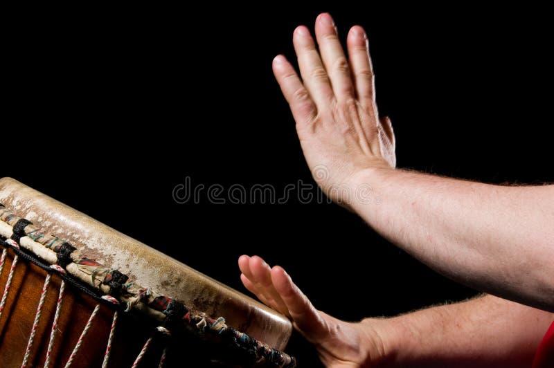 perkusista chłopca zdjęcia stock