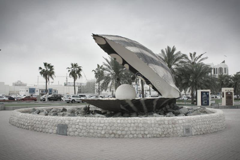 Perla di Doha, Qatar fotografia stock libera da diritti