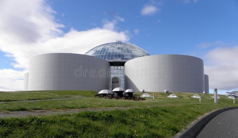 Perlan à Reykjavik photo stock