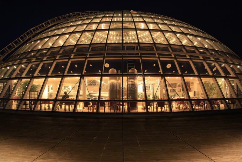 Perlan Glass Dome At Night, Reykjavik, Iceland Royalty Free Stock Photos