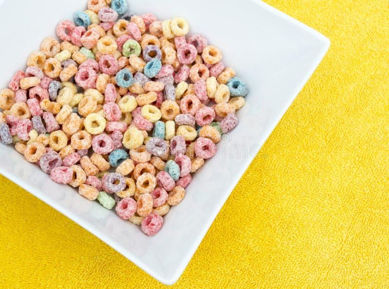 Perlas coloridas del cereal foto de archivo