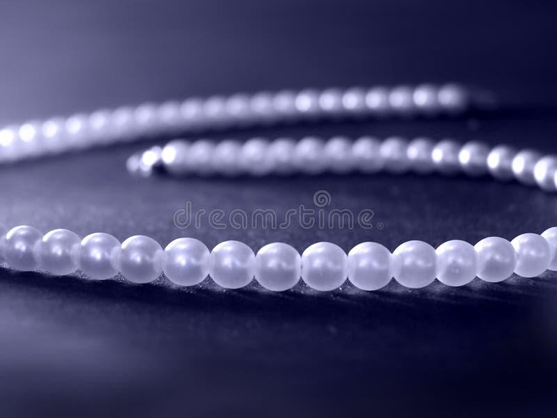 Perle blu fotografie stock