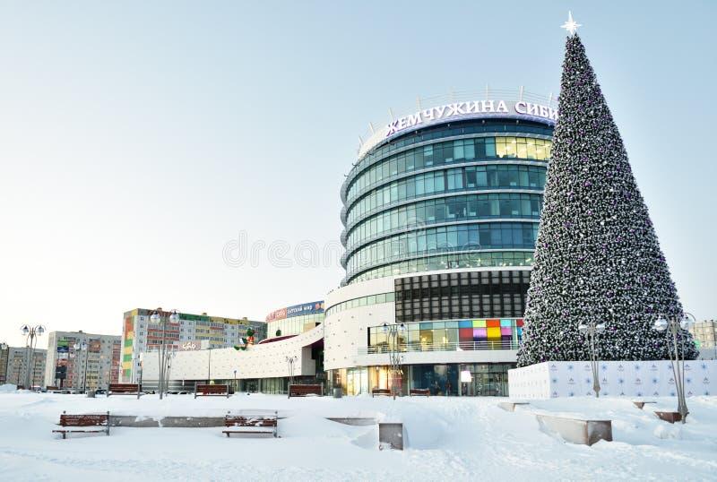 Perle de centre commercial de la Sibérie dans Tobolsk, Russie photos libres de droits