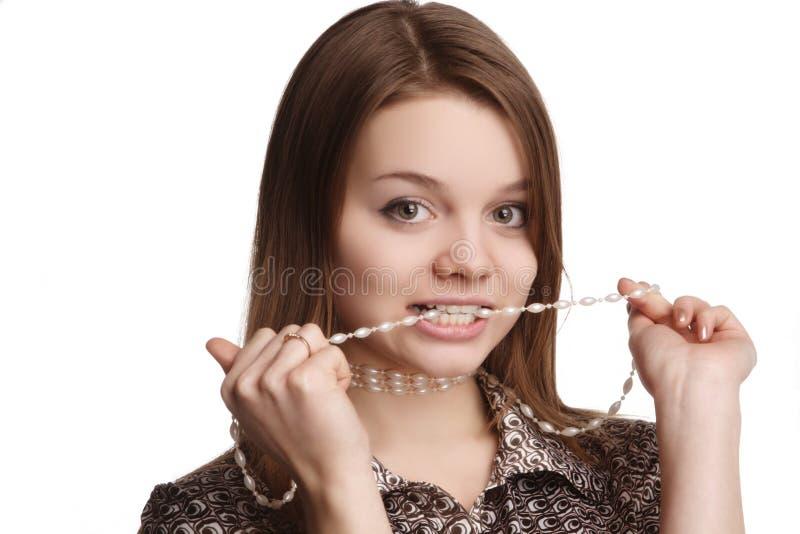 perle de l'adolescence images stock