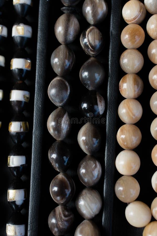 Perle dello stessi tipo e colore immagini stock