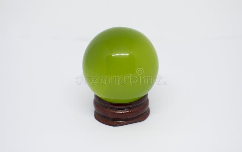 Perle verte - article de shui de feng images stock