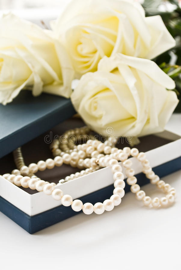 Perlen lizenzfreies stockfoto