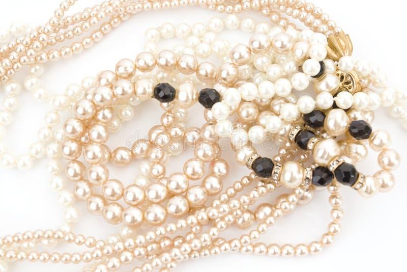 Perlen lizenzfreie stockbilder
