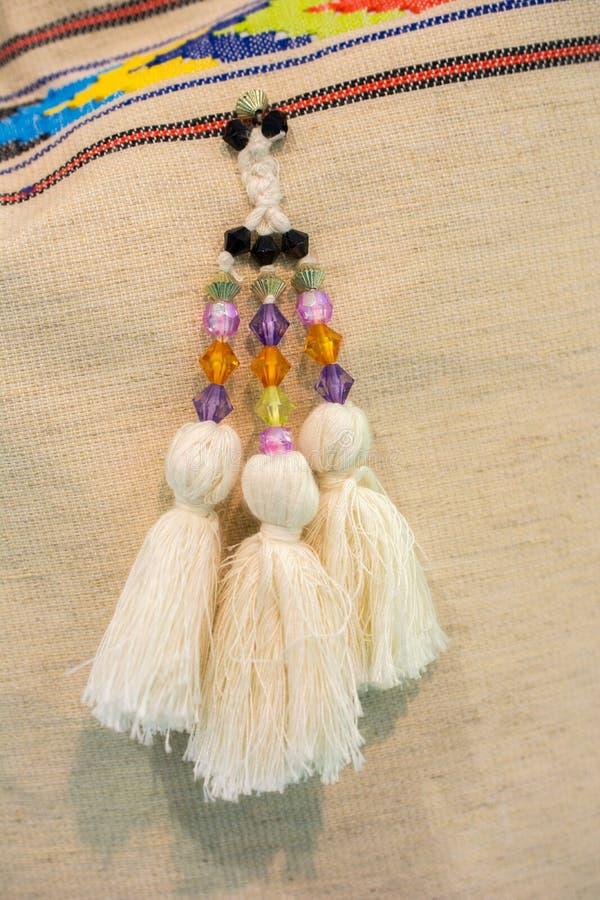 Perlen der verschiedenen Farbe stockfoto