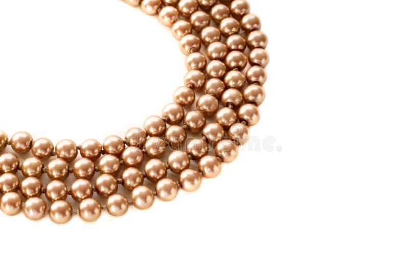 Perlen-Halskette stockfotos