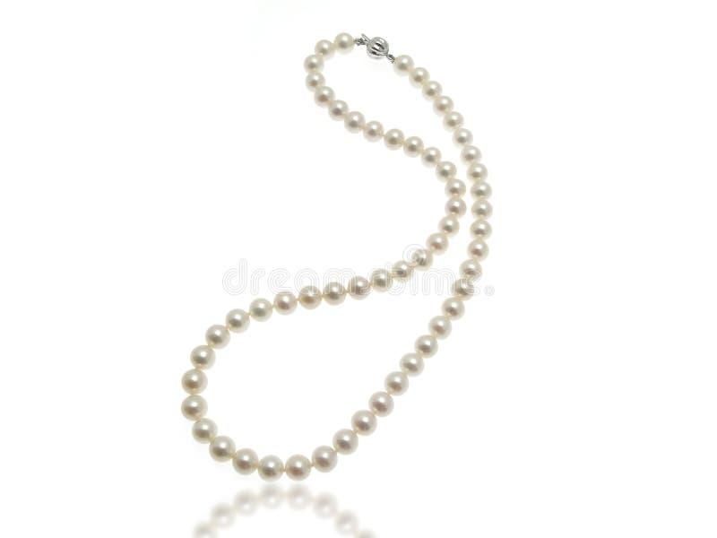 Perlen-Halskette lizenzfreie stockfotos