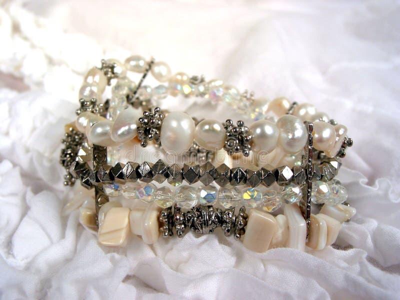 Perlenarmband stockbild