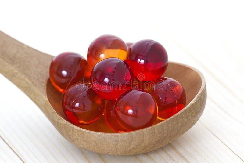 Perles de bain de pétrole photographie stock libre de droits