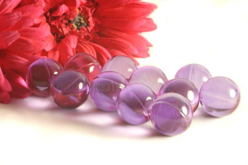 Perles de Bath photo stock