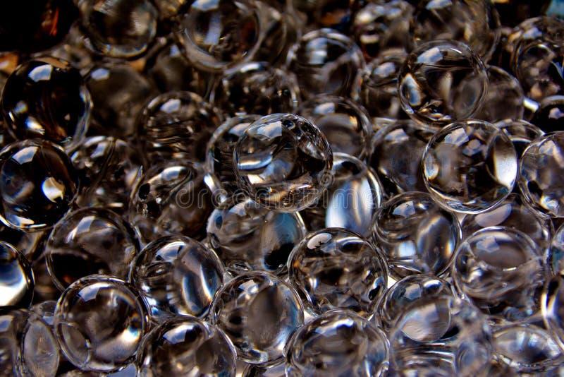 Perles de l'eau image stock