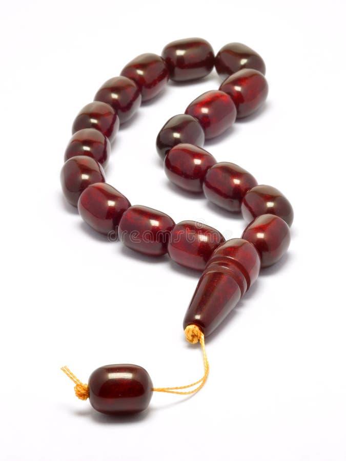 Perles de prière image libre de droits