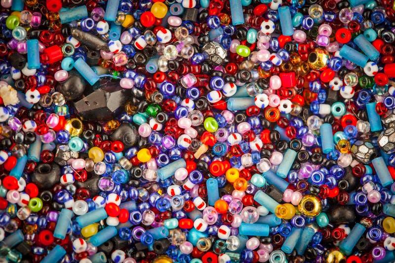 Perles en verre images stock