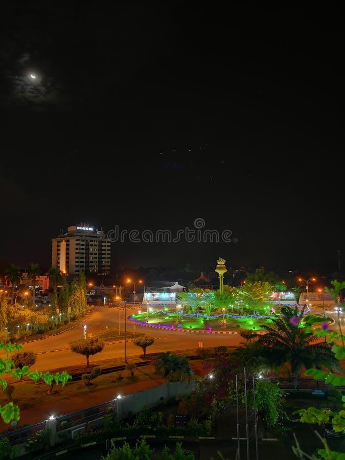 Perlis-Nachtszene stockbild