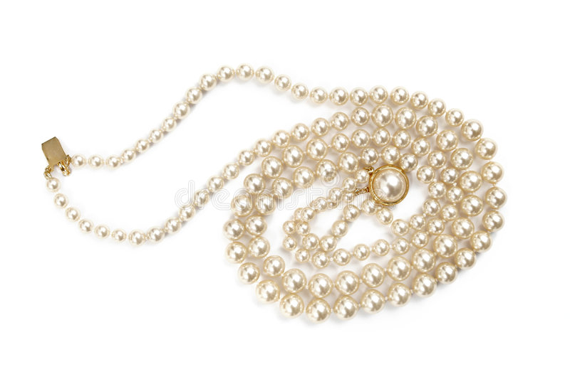 Perls isolated stock photography