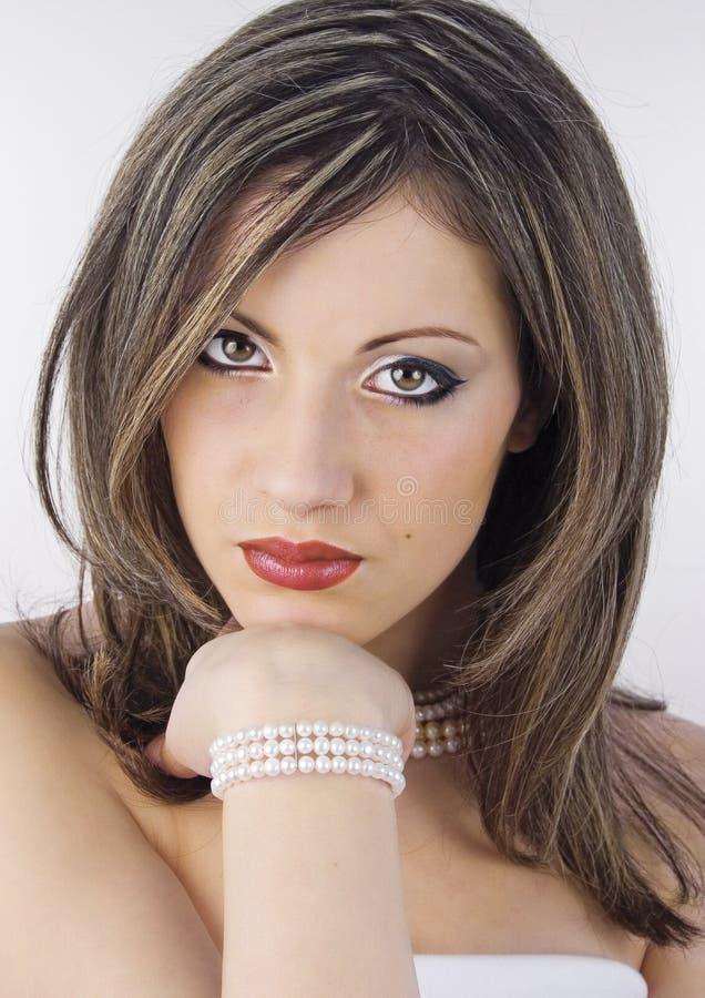 Perls luminoso fotografie stock