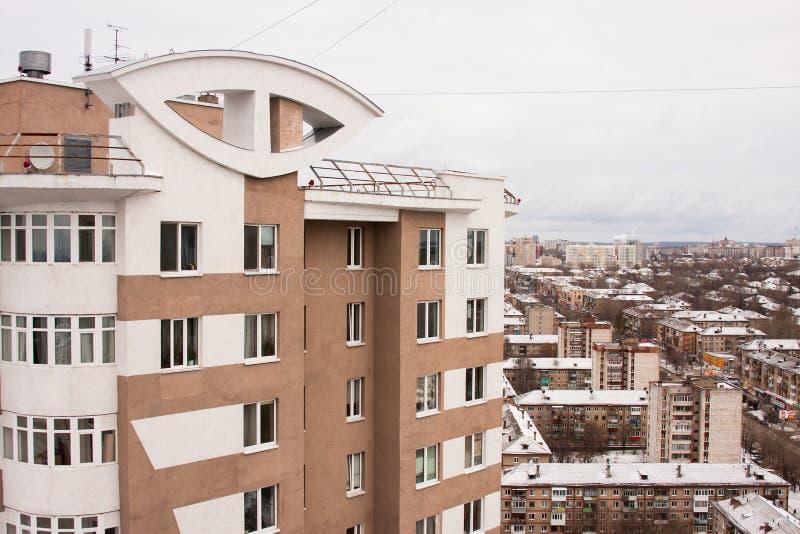 Permanent Ryssland-Oktober 31,2015: staden av permanenten, en nybygge arkivbilder