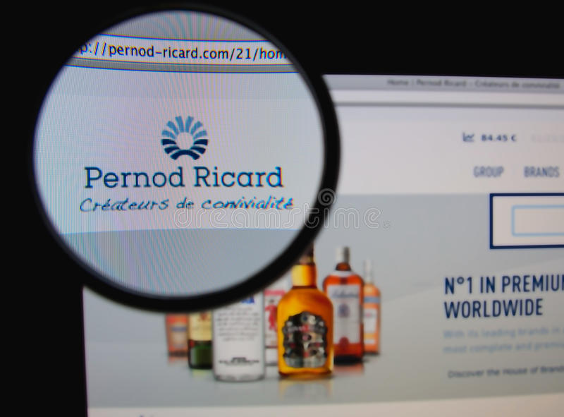 Pernod Ricard obrazy royalty free