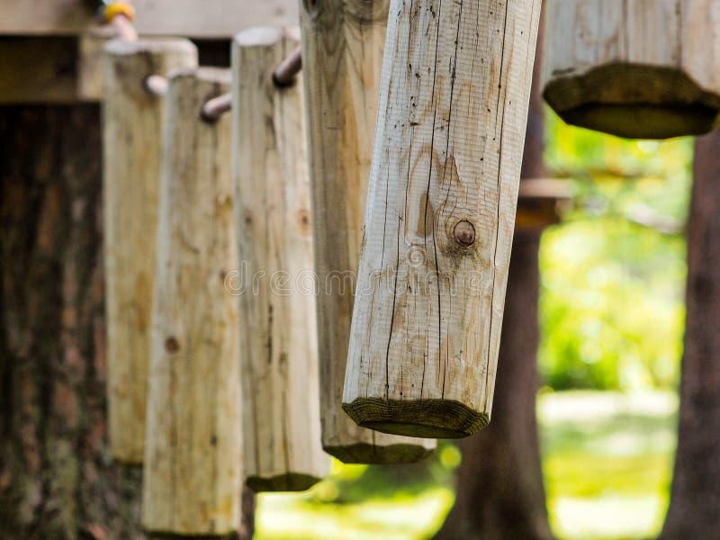 Pernos de madera fotografía de archivo