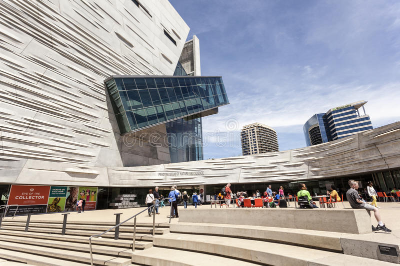 The Perot Museum of Nature and Science in Dallas, TX, USA royalty free stock image