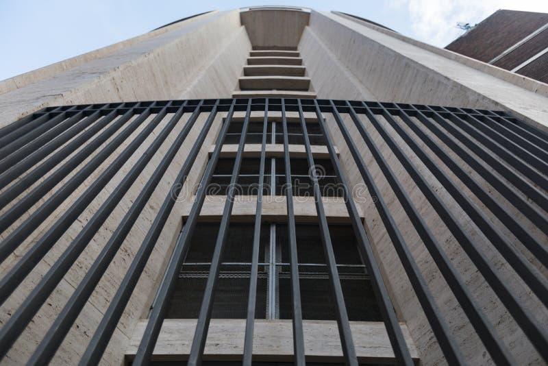 Perpective-Ansicht von 20 Jahrhundertarchitektur stockbilder