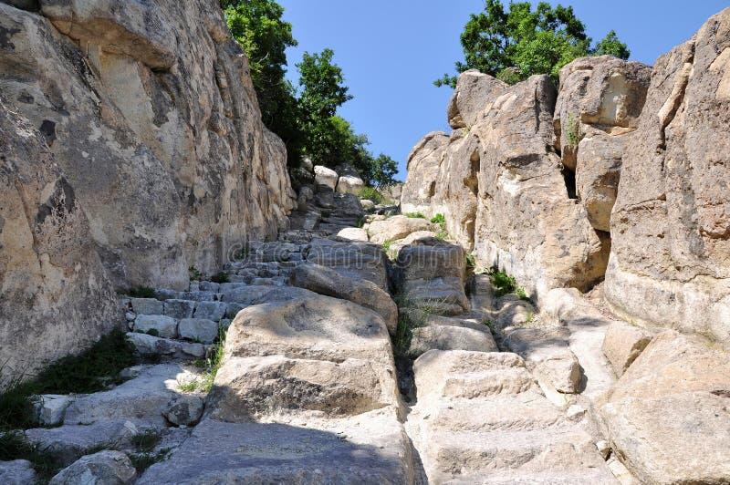 Perperikon освящено к Dionysus стоковое фото