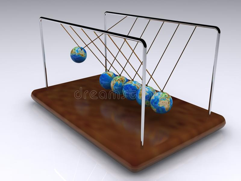 Download Perpetual motion stock illustration. Image of concepts - 19173802