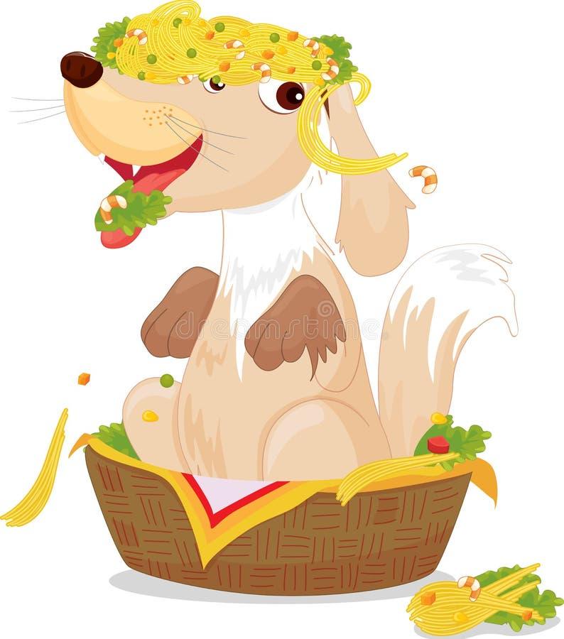 Perro libre illustration