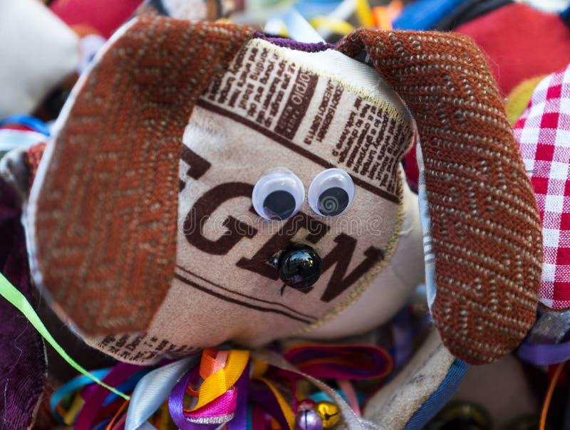 Perro de juguete suave foto de archivo libre de regalías