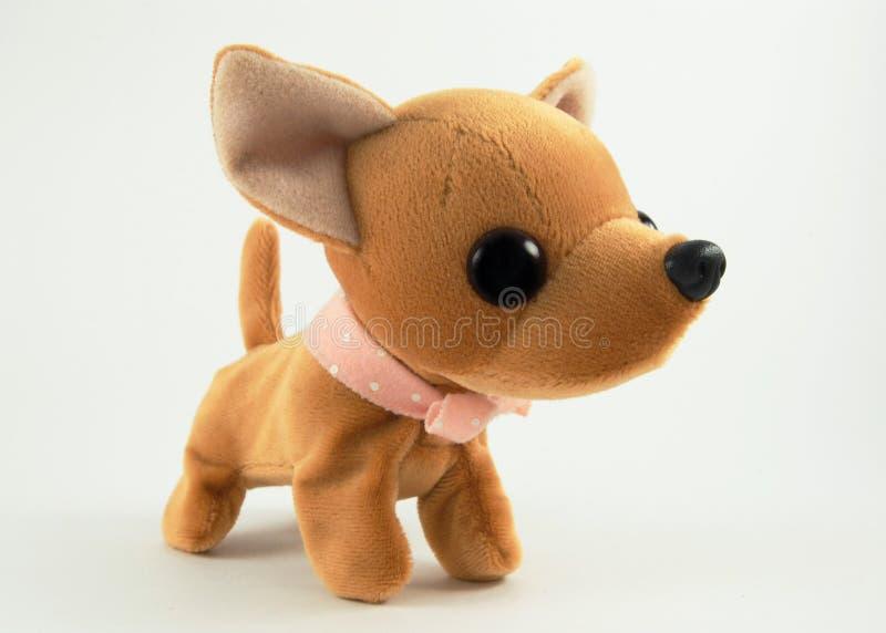 Perro de juguete suave fotografía de archivo