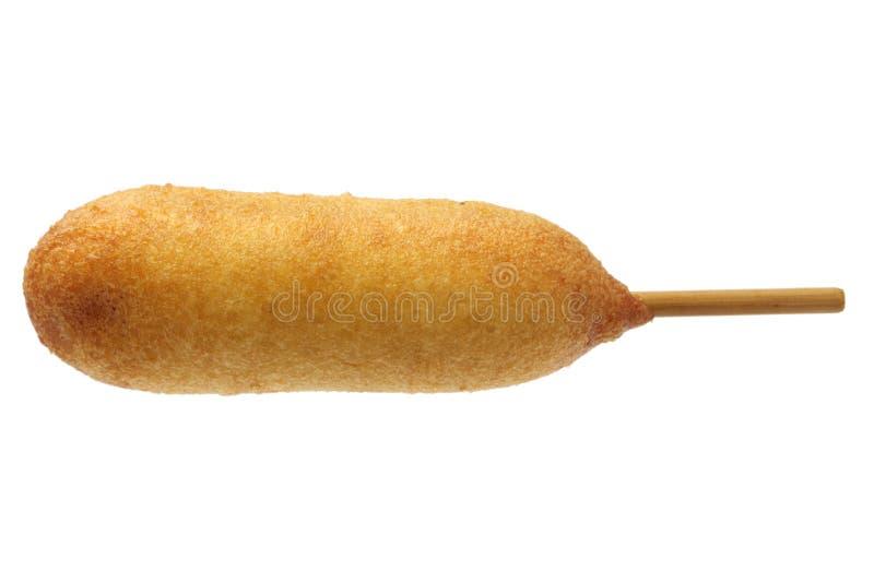 Perro de maíz hecho en casa fotografía de archivo libre de regalías