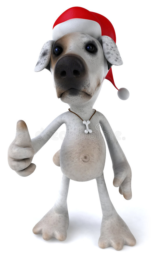 Download Perro de Santa stock de ilustración. Ilustración de mamífero - 7282683