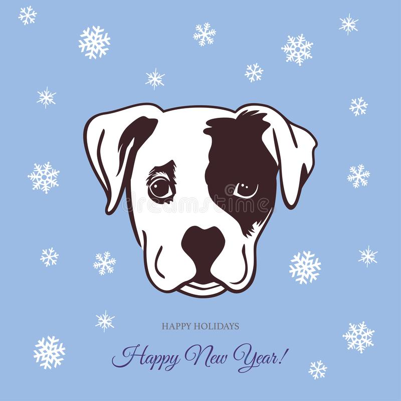 Perro 2018 del Año Nuevo libre illustration