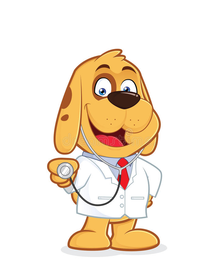 Perro del doctor libre illustration