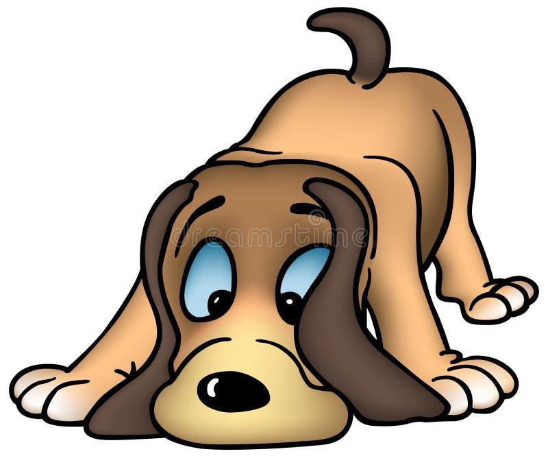 Perro el oler libre illustration